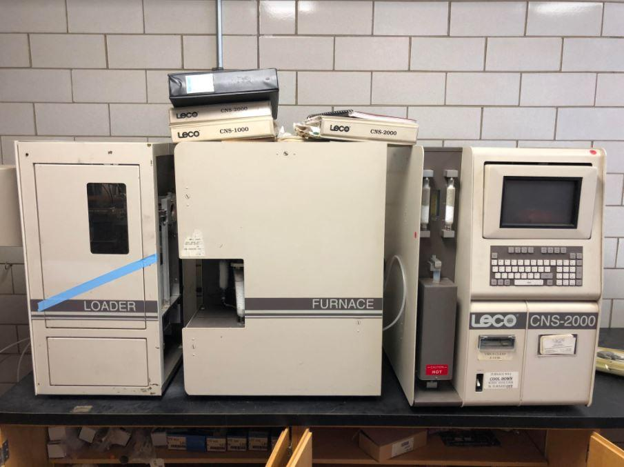 Leco CNS-2000 analyzer carbon nitrogen sulphur TONS OF PARTS