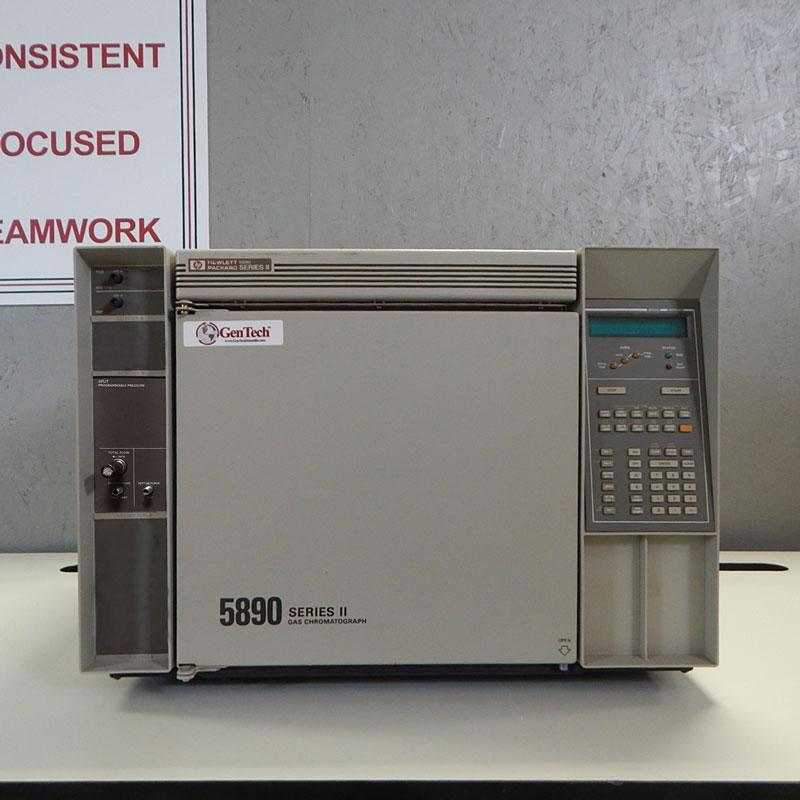 HP 5890 Series II GC-FID with EPC