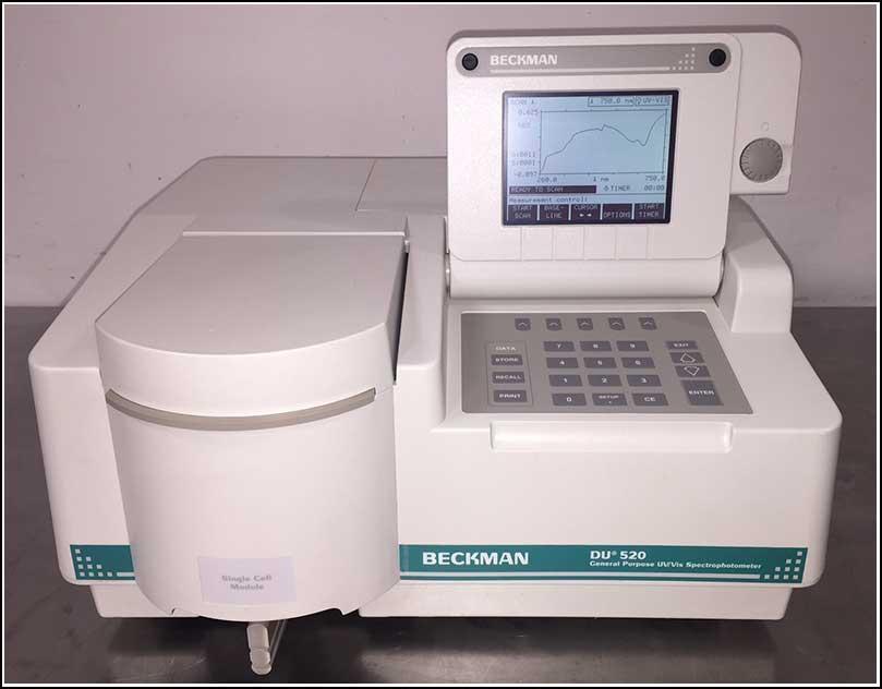 Beckman DU520 UV/Vis Spectrophotometer DU530
