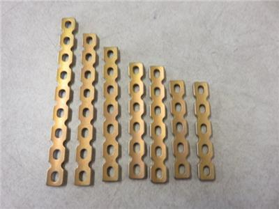 Synthes Orthopedic Titanium Reconstruction Plates 3.5mm- Lot of (7)