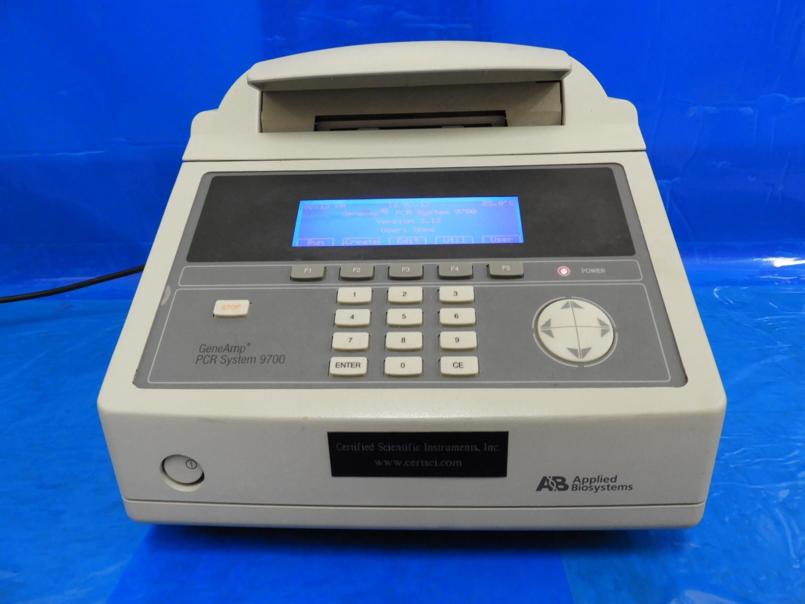 ABI 9700 Silver 96-well GeneAmp Thermal Cycler