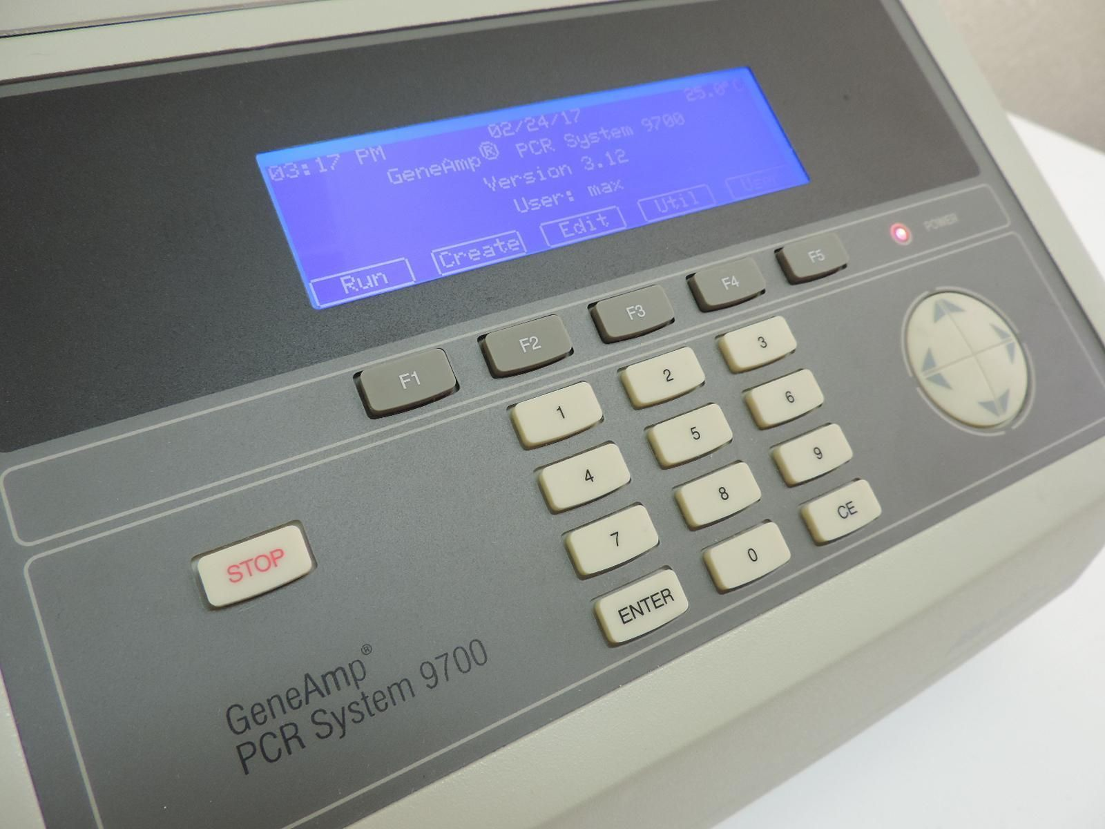 ABI 9700 96-Well Aluminum PCR Thermal Cycler