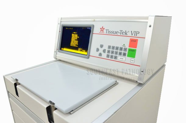 Sakura Tissue Tek VIP E150 floor model, refurbished, 1 year warranty- Southeast Pathology Instrument Service