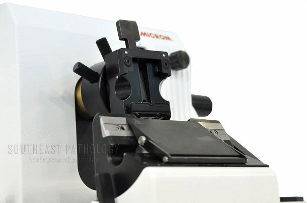 Microm HM325 microtome, refurbished, 1 year warranty- Southeast Pathology Instrument Service