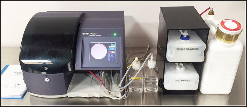 BD Flow Cytometer Cell Prep FACS Lyse Wash Assistant WARRANTY