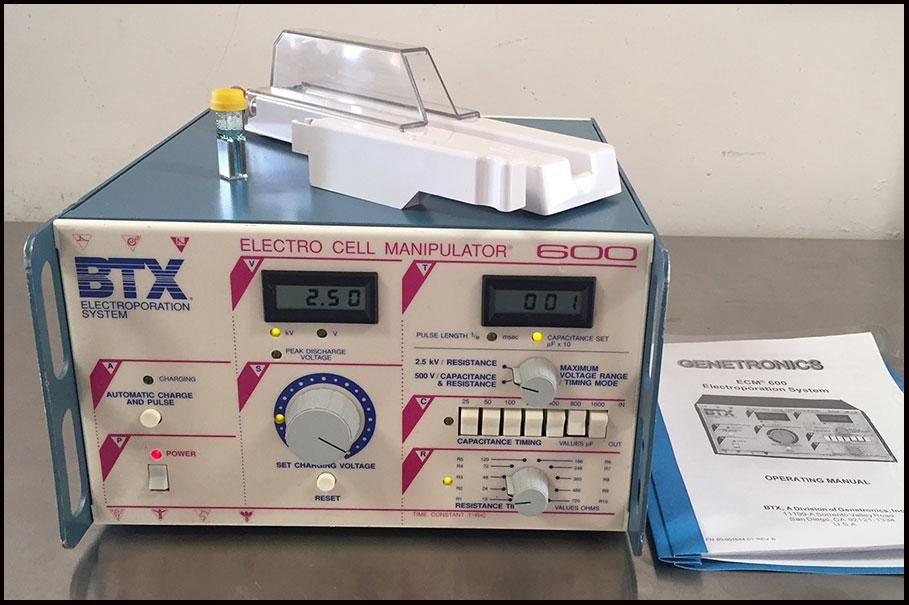 BTX ECM 600 Cell Porator Electroporation Electroporator COMPLETE w WARRANTY