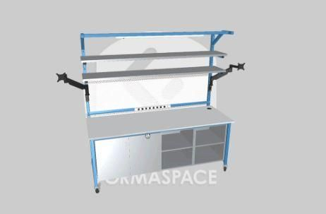 Formaspace - CUSTOMIZE LAB FURNITURE IN 3D