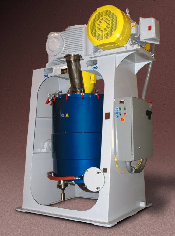 Union 250SD Dry Grinding Attritor for Ceramics