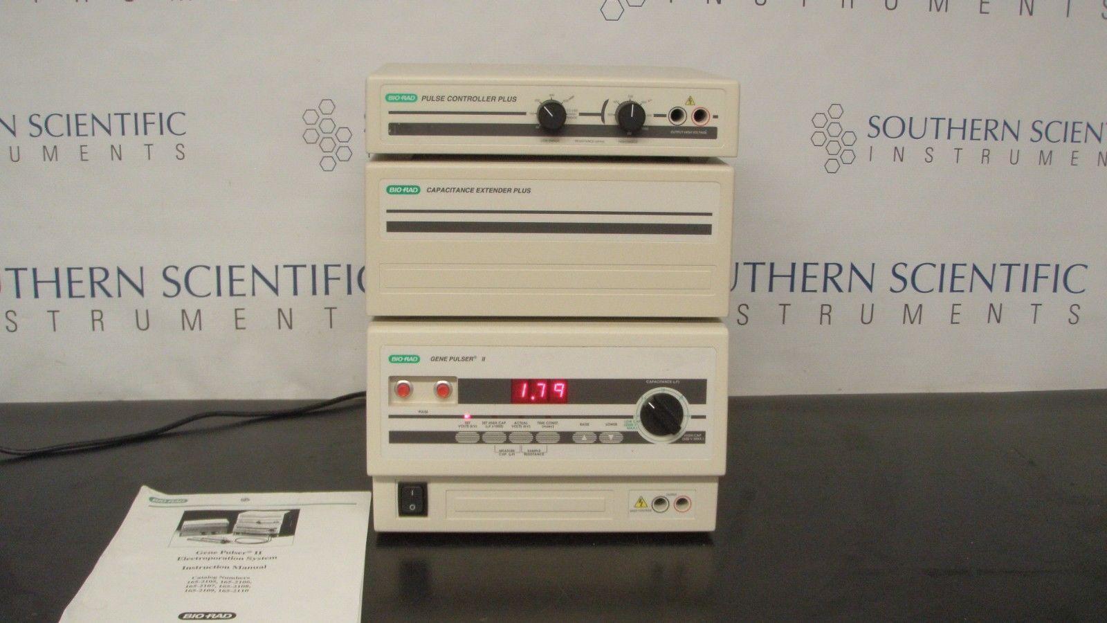 BIO RAD  Gene Pulser II Electroporation System