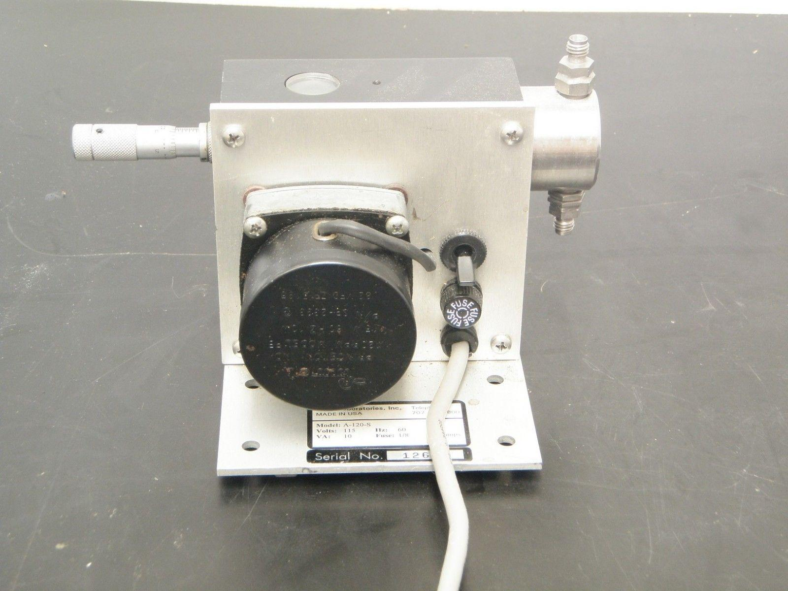 Eldex Laboratories High Pressure Metering Pump Model A-120-S