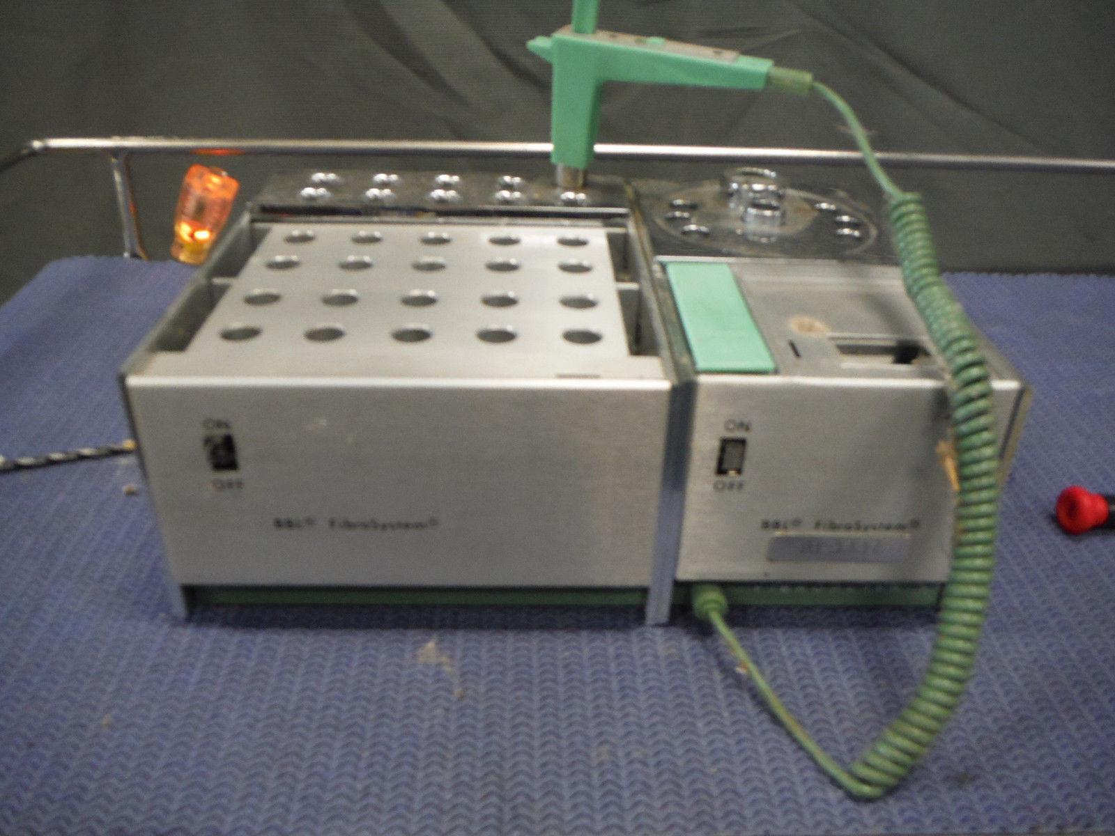 Becton BBL FibroSystem 60419 Thermal Prep Block & 60415 Coagulation Timer