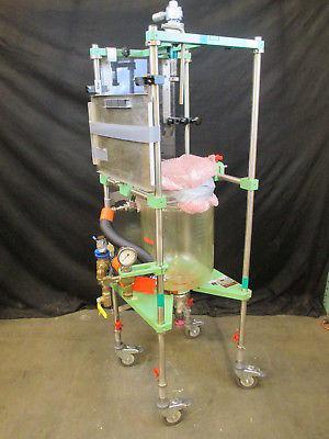 Chemglass Glass Jacket Reactor 20 Liters