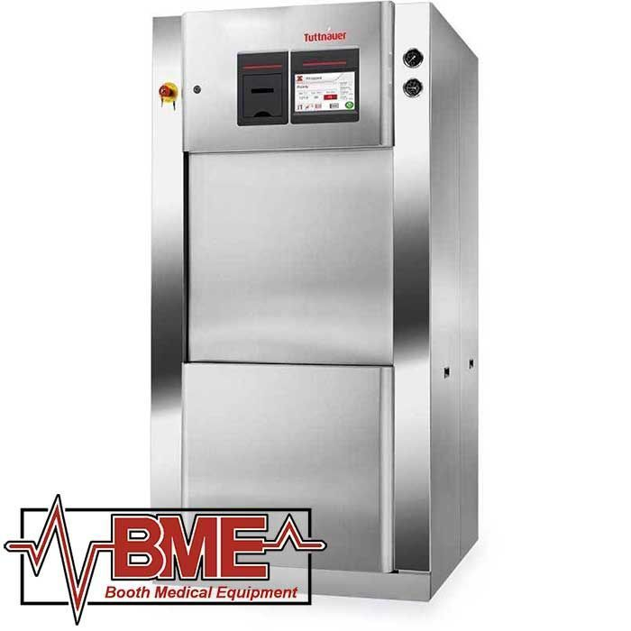 Tuttnauer - 4472 and 5596 Compact Series - Horizontal Steam Sterlizer Autoclave - New - Boothmed
