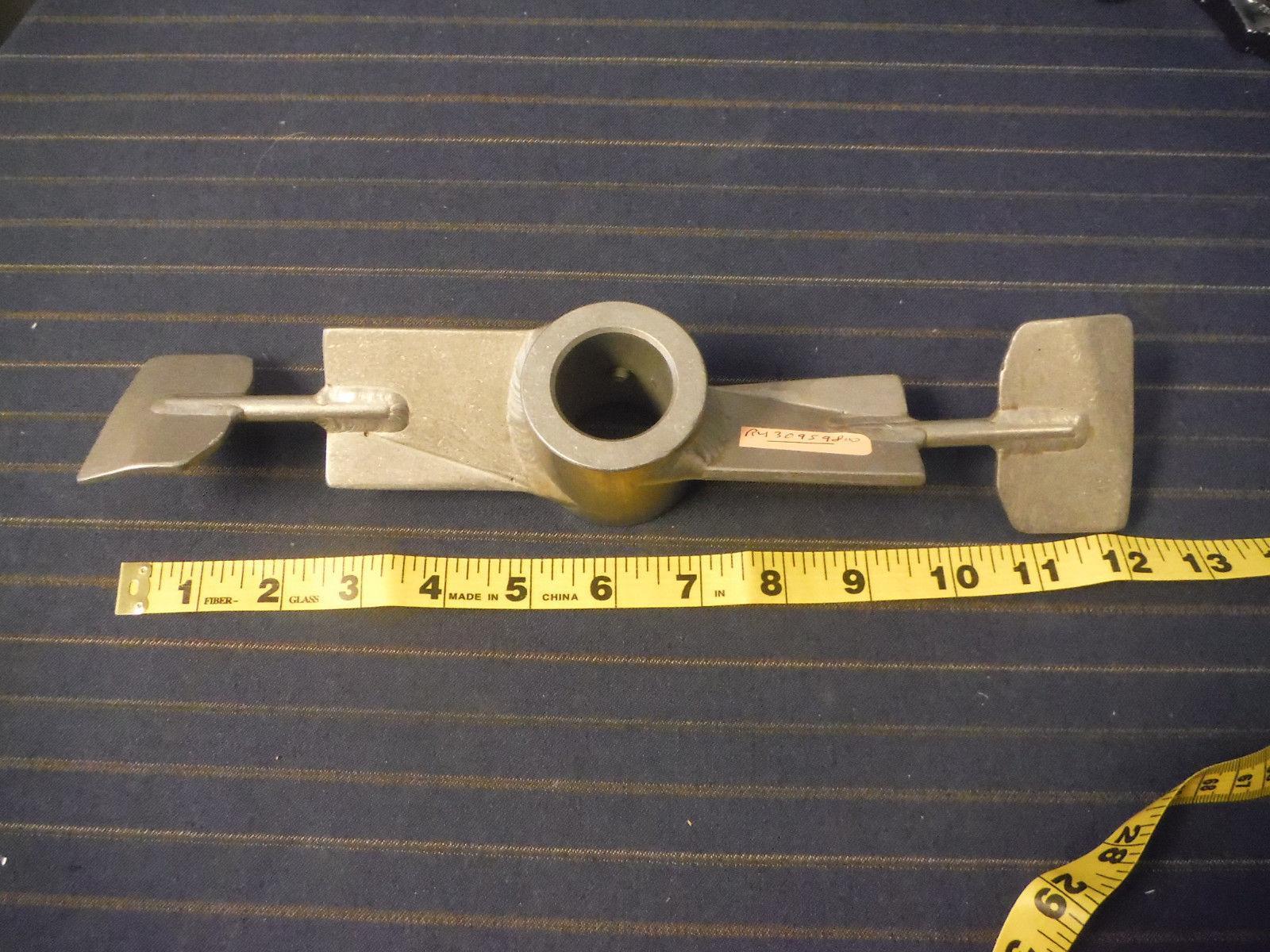 """Stainless Steel Mixer Propeller  Stirrer Impeller 12"""" diameter 1 1/4"""" Shaft"""
