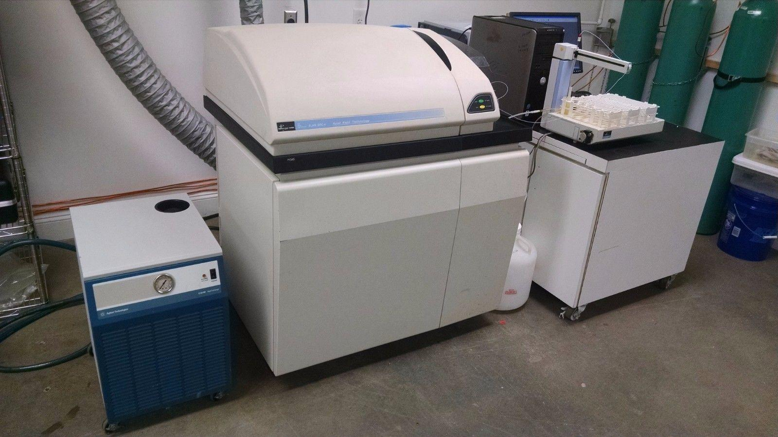 Perkin Elmer Elan DRC-E with Autosampler, Computer/Software, Tested and Working