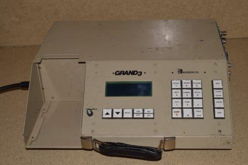 D S DAVIDSON CO INC AVIDSON CO GRAND 3 Multi Channel Analyzer