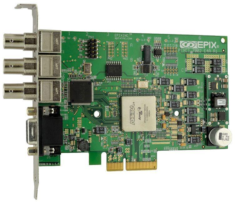 PCIe x4 Frame Grabber from EPIX Inc