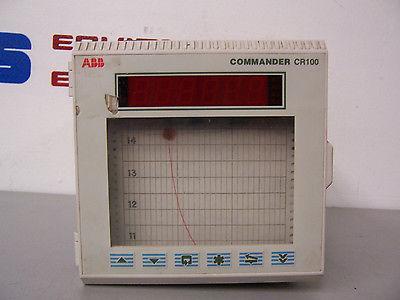 8344 ABB COMMANDER CR100 DIGITAL CHART RECORDER