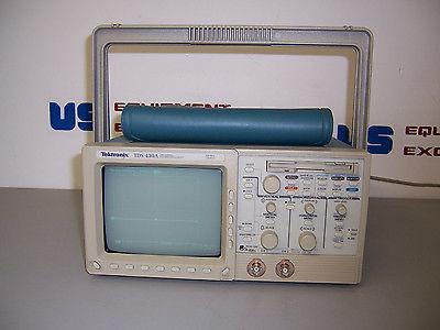 7767 TEKTRONIX TDS430A TWO CHANNEL DIGITIZING OSCILLOSCOPE 400 MHZ 100MS/S