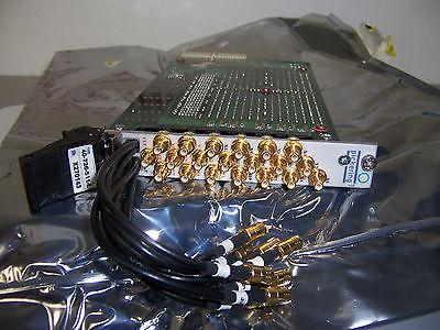 7340 PICKERING 40-726-511-L PXI MATRIX Config.12x8 RF Coax Matrix 50 Ohm SMB