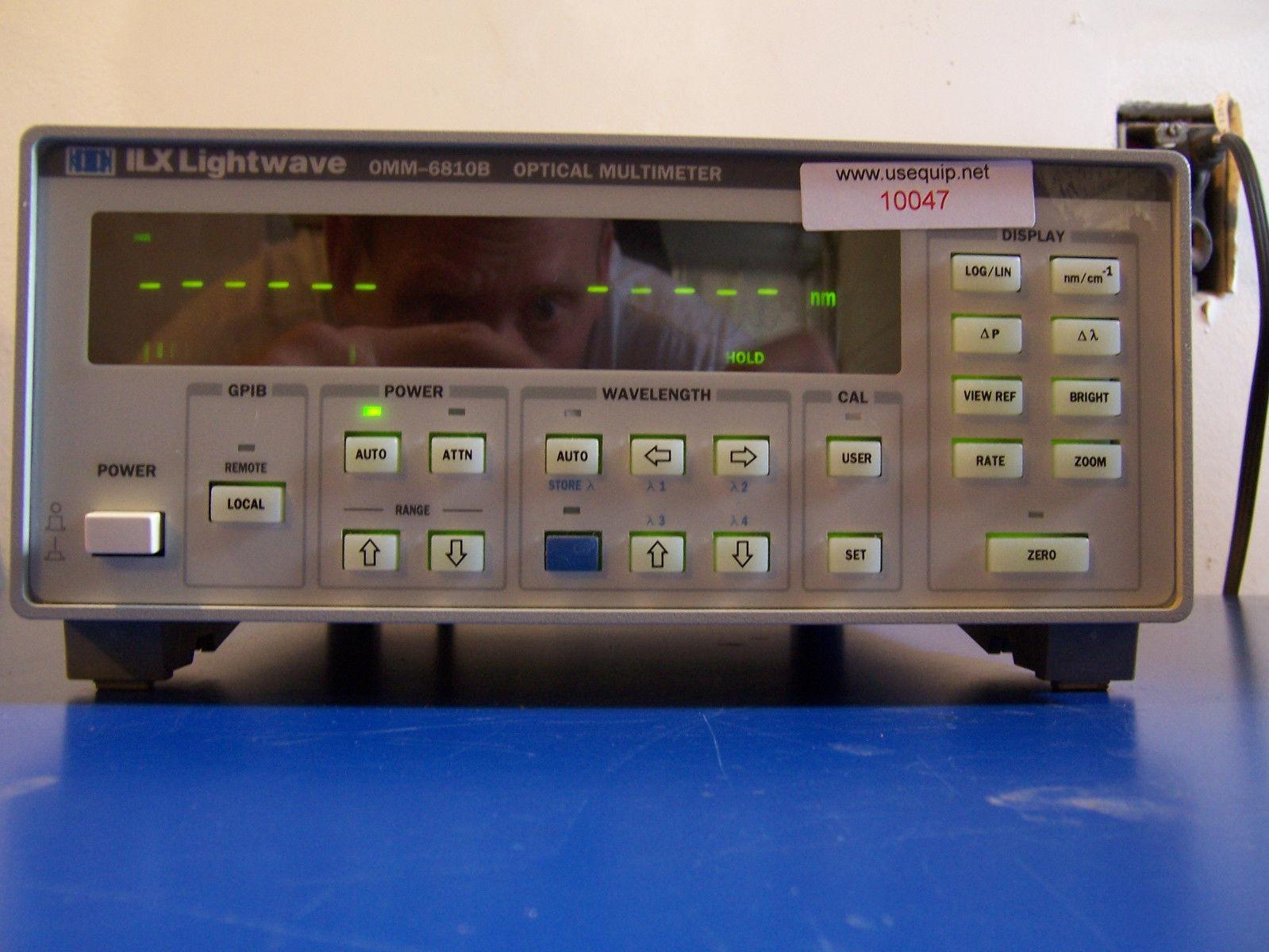10047 ILX LIGHTWAVE OMM-6810B OPTICAL MULTIMETER