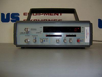 7768 WAVETEK UC10A UNIVERSAL COUNTER