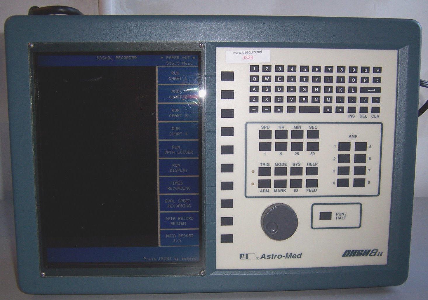 9828 ASTRO-MED DASH8U DASH-8U CHART RECORDER