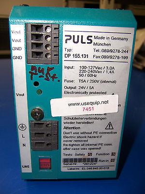 7451 PULS DP155.131 POWER SUPPLY