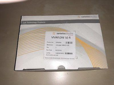 NEW Sartorius Vivaflow 50R Crossflow Cassettes, 100K MWCO HY (Cat#VF05H4)
