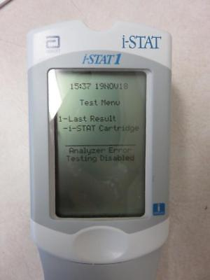 Abbott I-Stat 1 300 Handheld Portable Clinical Analyzer w/ Downloader,