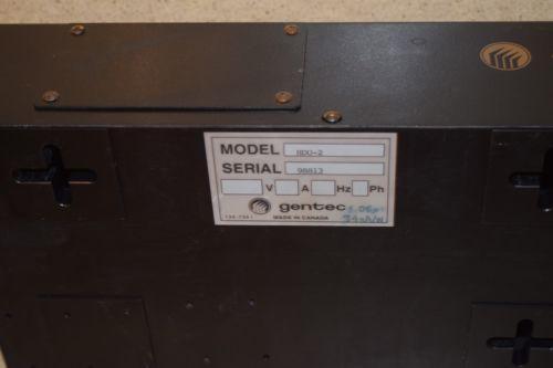 GENTEC HOLOGRAPHIC DETECTION UNIT- MODEL HDU-2