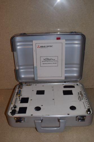 EG&G ORTEC NOMAD PLUS PORTABLE GAMMA-RAY SPECTROSCOPY SYSTEM