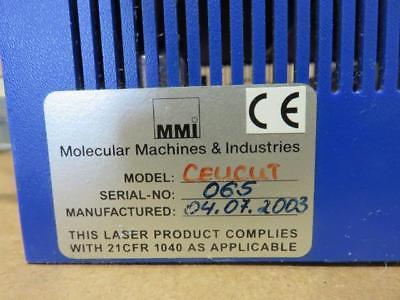 MMI Cellcut Molecular Machines Laser Microdissection System Box w/ Key