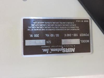 Foss NIRSystems Pharma 5000 Feed and Forage Analyzer w/ Smart Probe 2M- Parts