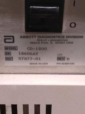Abbott Cell Dyn 1800 Hemotology Analyzer
