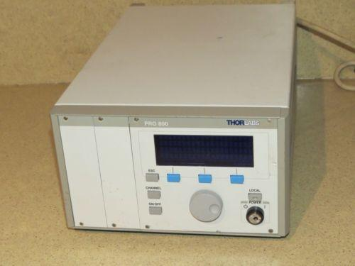 ^^ THORLABS PRO 800 LASER SOURCE MAINFRAME
