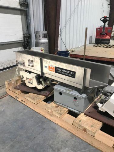 Eriez Magnetics HS42 HI-VI Vibratory Conveyor w/Controls 36x6x6