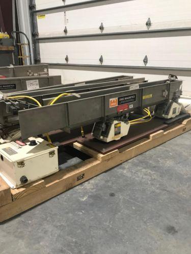 Eriez Magnetics HS36 HI-VI Vibratory Conveyor w/Controls 60x6x6