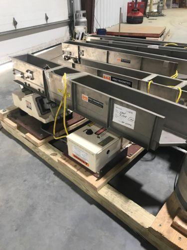Eriez Magnetics HS66 HI-VI Vibratory Conveyor w/Controls 60x6x6
