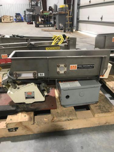 Eriez Magnetics HS36 HI-VI Vibratory Conveyor w/Controls 31x6x6