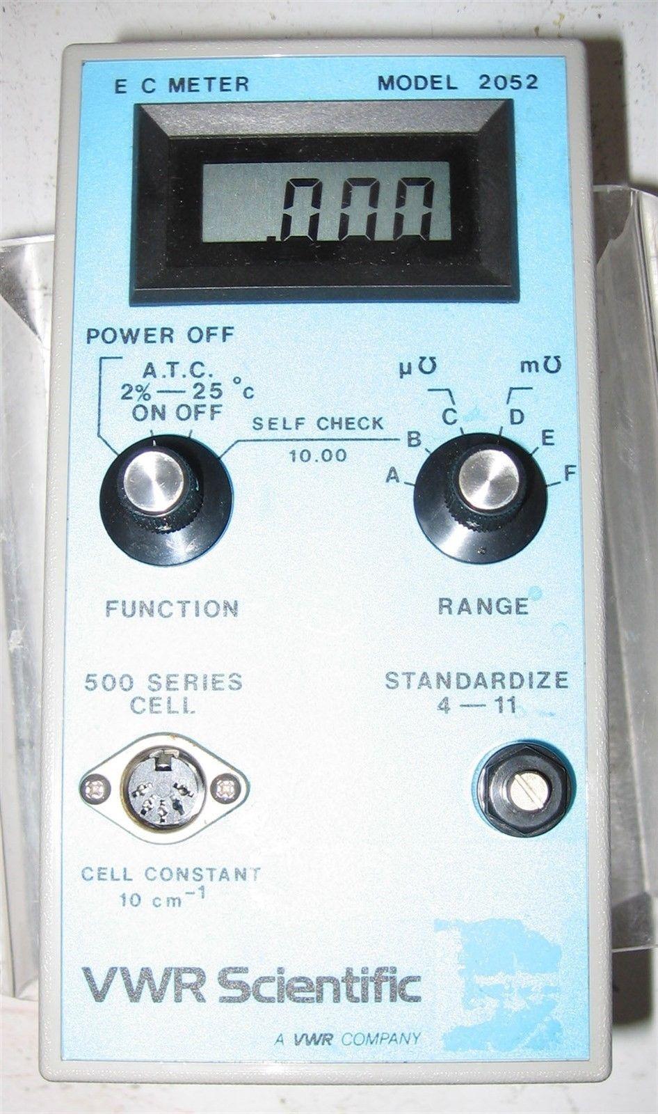 VWR  Conductivity Meter  2052