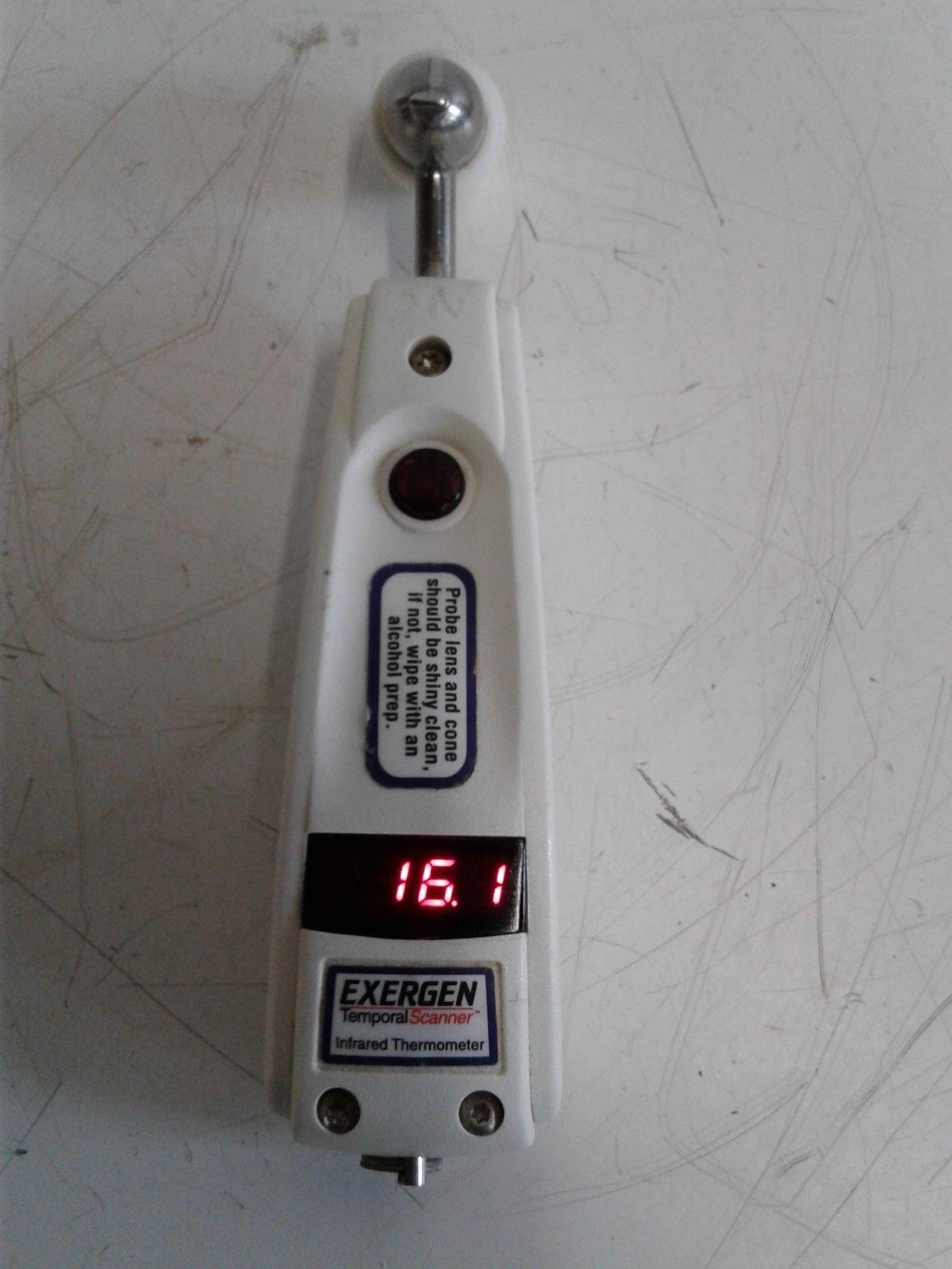 Exergen TAT-5000 Temporal Scanner Infrared Thermometer - Tested