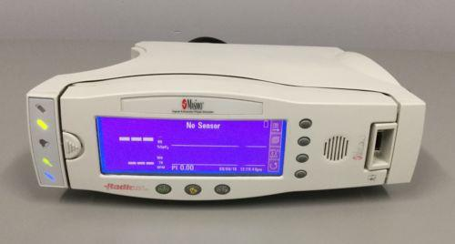 Masimo Radical Signal Extraction Pulse Oximeter with RS-232 Docking Station