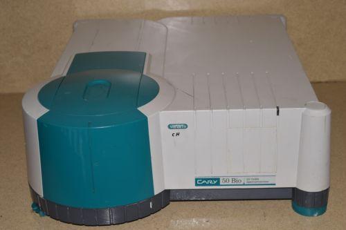 VARIAN CARY 50 UV-VIS UV-VISIBLE SPECTROPHOTOMETER