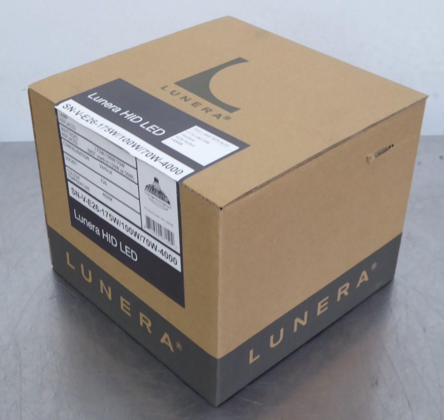 TB Lunera Susan HID LED SN-V-E26-175W/100W/70W-5000 Lamp E26 Socket, 5000K