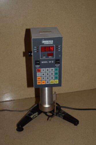 BROOKFIELD DIGITAL VISCOMETER MODEL DV-II / LVTDVCP-II