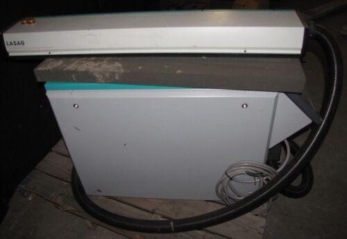 LASAG KLS 246 KLS246 PULSED ND: YAG LASER 208V 3 PH-FINE CUTTING / DRILL (#2673)