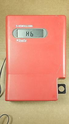 Lot of 2 HemoCue B-Hemoglobin Photometers w/ (1) Power Supply- Parts