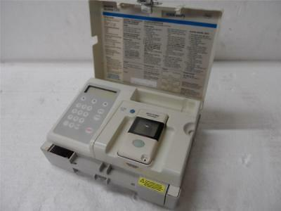 AccuData GTS Plus Blood Analyzer W / Accu-Chek Model 777 Glucose Meter & Manual