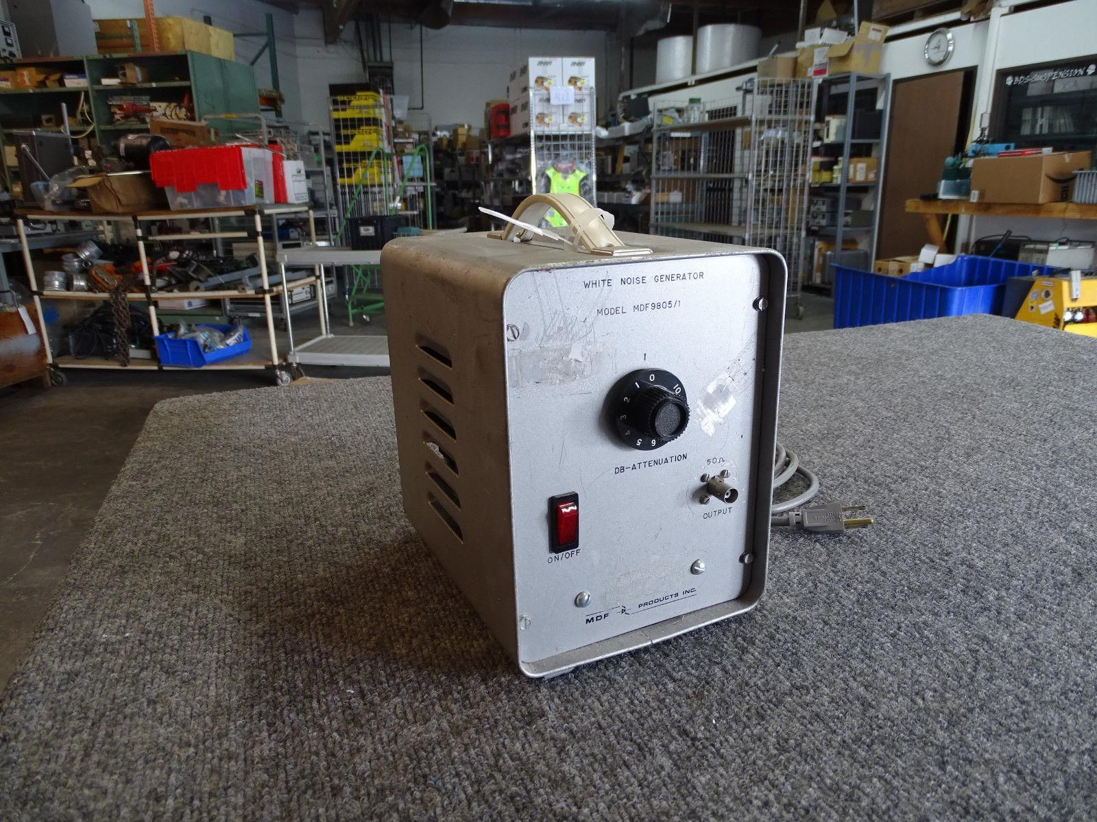 MDF Products MDF9805/1 White Noise Generator